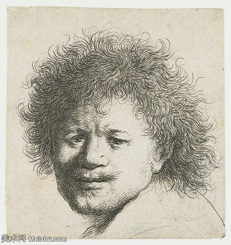 【打印级】SMR131517013-伦勃朗Rembrand素描线稿原作作品高清大图伦勃朗自画像伦勃朗的速写手稿作品伦勃朗