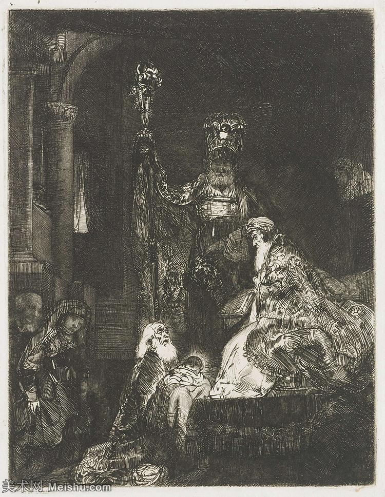 【打印级】SMR131517410-伦勃朗Rembrand素描线稿原作作品高清大图伦勃朗自画像伦勃朗的速写手稿作品伦勃朗