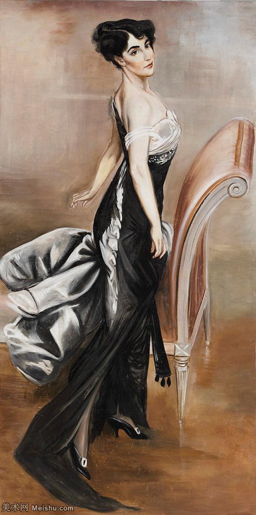【打印级】YHR13142340-乔凡尼博蒂尼GiovanniBodini油画作品高清图片-13M-1537X3095.