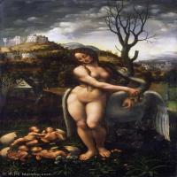 【打印级】YHR131403076-世界著名绘画大师达芬奇DaVinci油画作品高清大图蒙娜丽莎达芬奇世界著名油画作品高清图片-27M-2375X4107