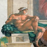 【欣赏级】YHR18144606-米开朗基罗博那罗蒂Michelangelo Buonarroti意大利文艺复兴时期画家油画作品高清大图-11M-1664X2324