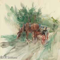 【打印级】YHR13142356-乔凡尼博蒂尼GiovanniBodini油画作品高清图片-11M-2500X1670