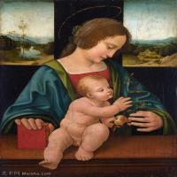 【打印级】YHR131403059-世界著名绘画大师达芬奇DaVinci油画作品高清大图蒙娜丽莎达芬奇世界著名油画作品高清图片-37M-3121X4226