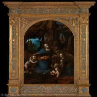 【打印级】YHR131403074-世界著名绘画大师达芬奇DaVinci油画作品高清大图蒙娜丽莎达芬奇世界著名油画作品高清图片-29M-2842X3612