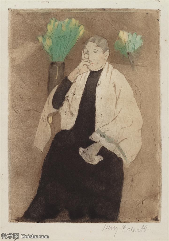【欣赏级】YHR181348028-19世纪著名美国印象派女画家玛丽卡萨特Mary Cassatt绘画作品集油画作品高清