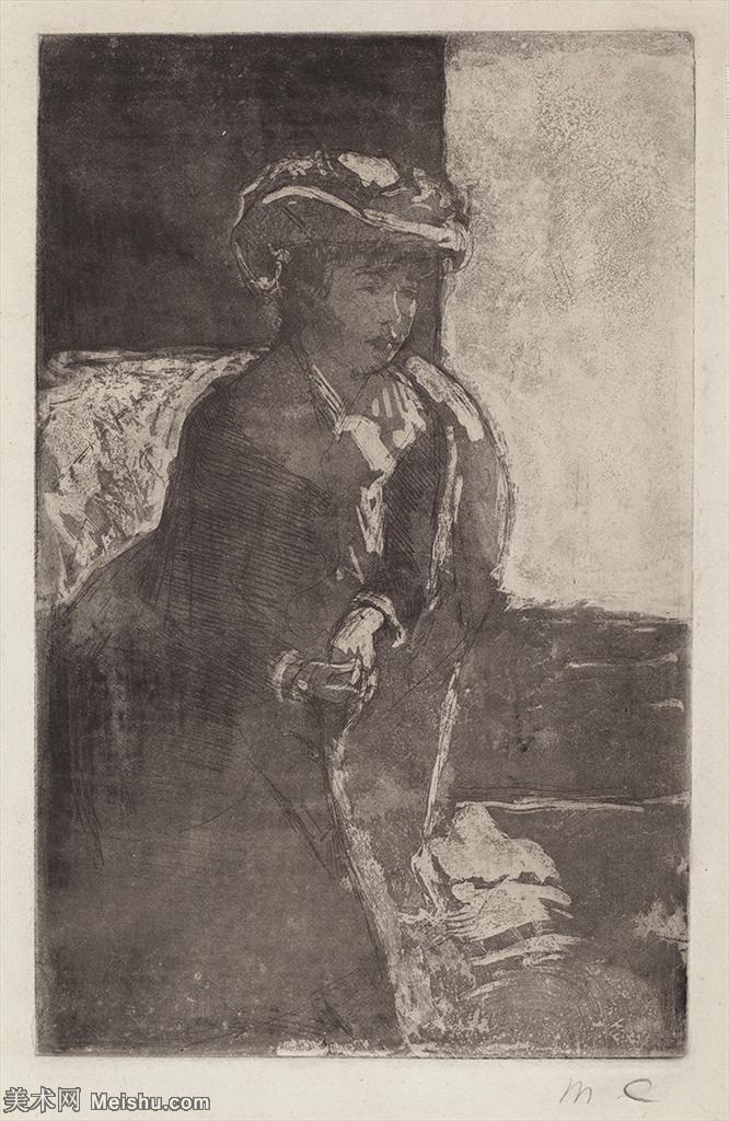 【欣赏级】YHR181348017-19世纪著名美国印象派女画家玛丽卡萨特Mary Cassatt绘画作品集油画作品高清