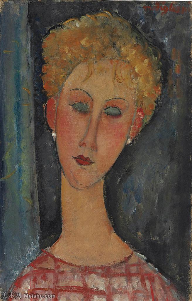 【欣赏级】YHR19083846-阿梅代奥莫迪利亚尼Amedeo Modigliani意大利著名画家绘画作品集油画作品高