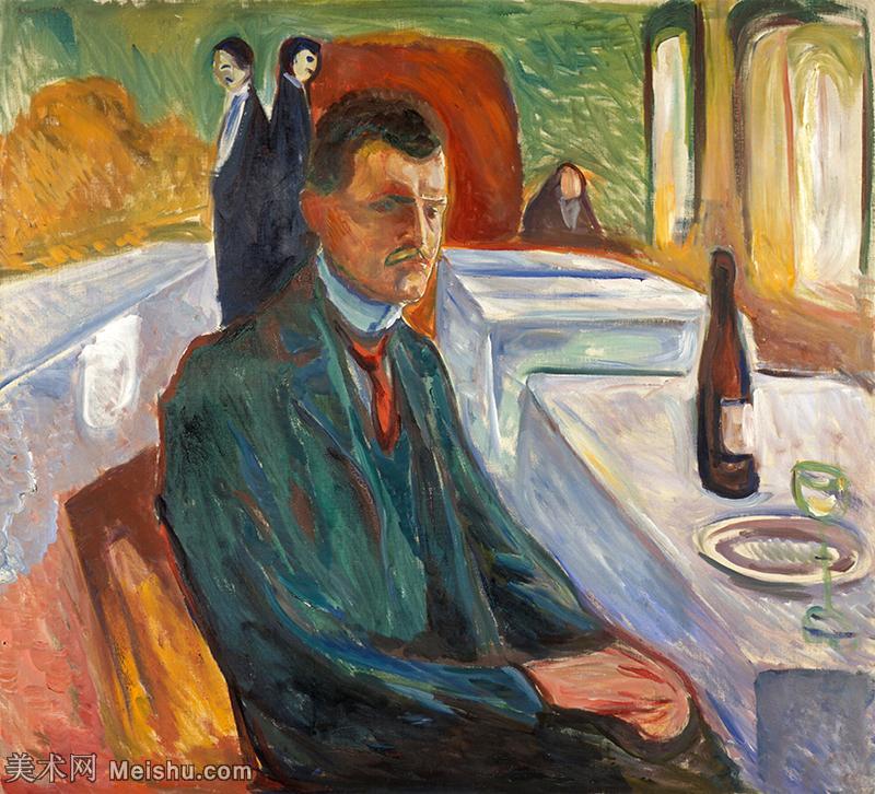 【印刷级】YHR19085872-爱德华蒙克Edvard Munch挪威表现主义画家绘画作品集蒙克作品高清图片-48M-