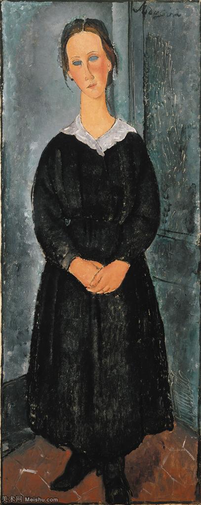 【欣赏级】YHR19083837-阿梅代奥莫迪利亚尼Amedeo Modigliani意大利著名画家绘画作品集油画作品高