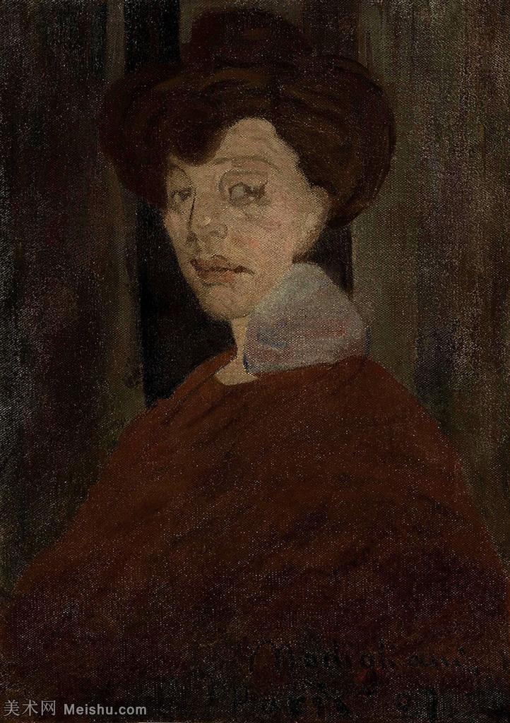 【欣赏级】YHR19083836-阿梅代奥莫迪利亚尼Amedeo Modigliani意大利著名画家绘画作品集油画作品高
