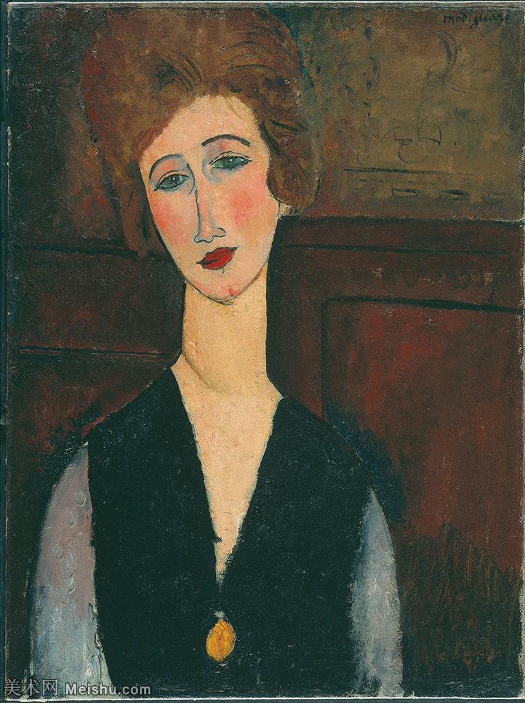 【欣赏级】YHR19083838-阿梅代奥莫迪利亚尼Amedeo Modigliani意大利著名画家绘画作品集油画作品高