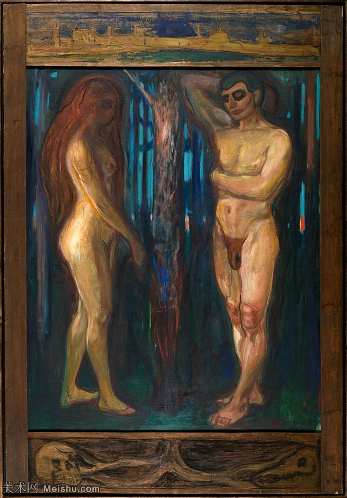 【印刷级】YHR19085873-爱德华蒙克Edvard Munch挪威表现主义画家绘画作品集蒙克作品高清图片-48M-