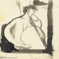 【欣赏级】YHR19083722-阿梅代奥莫迪利亚尼Amedeo Modigliani意大利著名画家绘画作品集手稿素描作品高清图片LE JOUEUR DE VIOLONCELLE-9M-1626X21