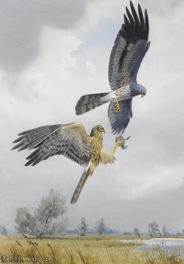 【欣赏级】YHR181455058-约翰西里尔哈里森John Cyril Harrison英国画家高清绘画作品集-20M