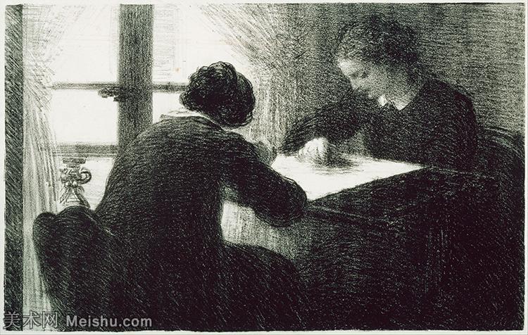 【打印级】YHR190755077-国画家亨利方丹拉图尔Henri Fantin Latour绘画作品集西方绘画大师拉图