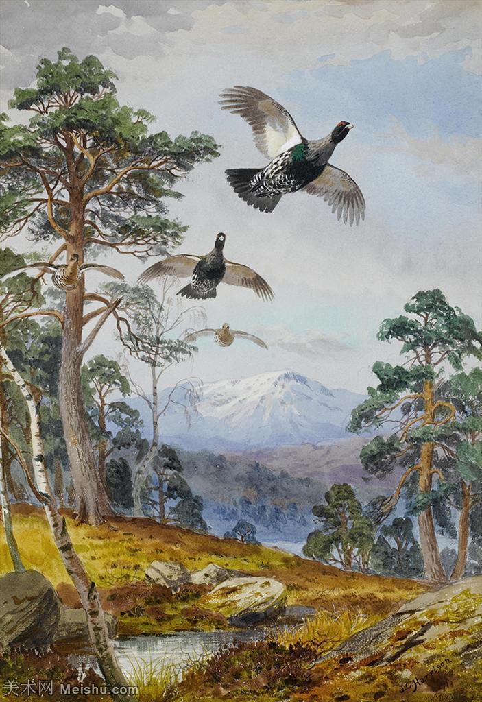 【打印级】YHR181455065-约翰西里尔哈里森John Cyril Harrison英国画家高清绘画作品集-21M