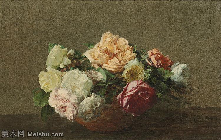 【欣赏级】YHR190755057-国画家亨利方丹拉图尔Henri Fantin Latour绘画作品集西方绘画大师拉图