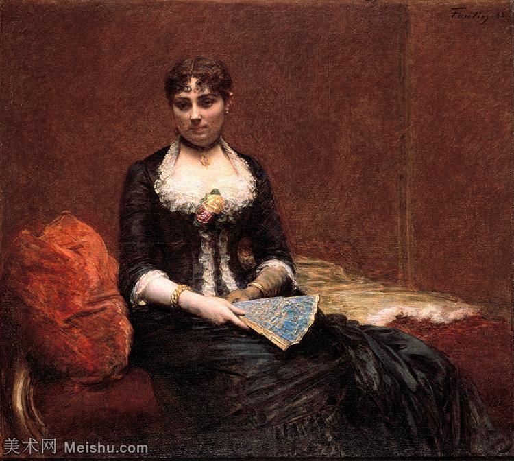【印刷级】YHR190755106-国画家亨利方丹拉图尔Henri Fantin Latour绘画作品集西方绘画大师拉图
