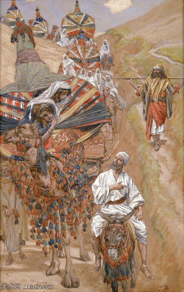 【打印级】YHR18131240-法国新古典主义画派画家詹姆斯雅克约瑟夫蒂索James Jacques Joseph T