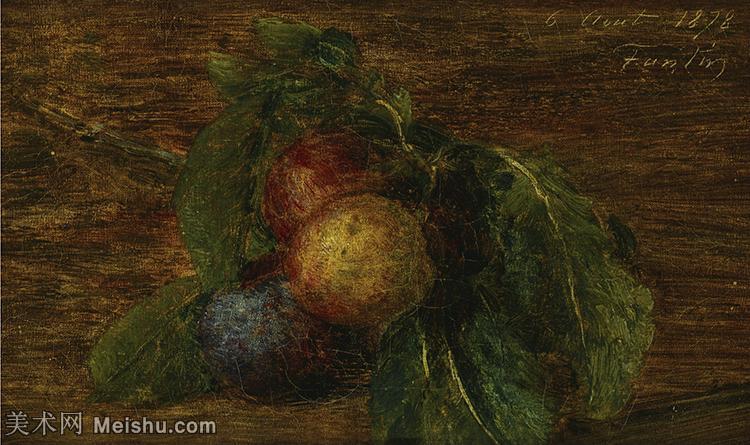 【欣赏级】YHR190755010-国画家亨利方丹拉图尔Henri Fantin Latour绘画作品集西方绘画大师拉图
