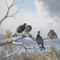 【打印级】YHR181455132-约翰西里尔哈里森John Cyril Harrison英国画家高清绘画作品集-24M-3408X2472