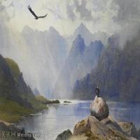【打印级】YHR181455087-约翰西里尔哈里森John Cyril Harrison英国画家高清绘画作品集-21M-3304X2280
