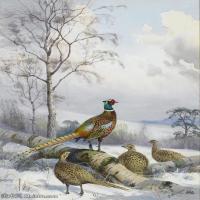【打印级】YHR181455073-约翰西里尔哈里森John Cyril Harrison英国画家高清绘画作品集-21M-2248X3296