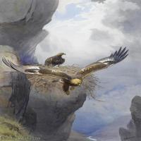 【打印级】YHR181455076-约翰西里尔哈里森John Cyril Harrison英国画家高清绘画作品集-21M-2304X3232