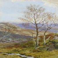 【打印级】YHR181455138-约翰西里尔哈里森John Cyril Harrison英国画家高清绘画作品集-39M-2836X4844