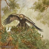 【欣赏级】YHR181455030-约翰西里尔哈里森John Cyril Harrison英国画家高清绘画作品集-18M-3296X1992