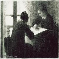 【打印级】YHR190755077-国画家亨利方丹拉图尔Henri Fantin Latour绘画作品集西方绘画大师拉图尔高清油画作品图库下载-29M-4001X2541