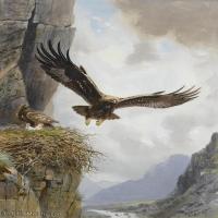 【打印级】YHR181455071-约翰西里尔哈里森John Cyril Harrison英国画家高清绘画作品集-21M-2280X3248