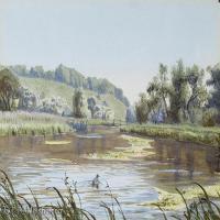 【打印级】YHR181455139-约翰西里尔哈里森John Cyril Harrison英国画家高清绘画作品集-39M-4752X2904