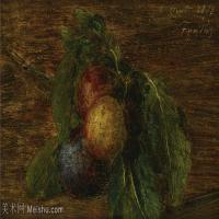 【欣赏级】YHR190755010-国画家亨利方丹拉图尔Henri Fantin Latour绘画作品集西方绘画大师拉图尔高清油画作品图库下载1-6M-1998X1185