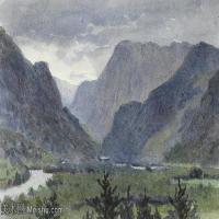 【欣赏级】YHR181455031-约翰西里尔哈里森John Cyril Harrison英国画家高清绘画作品集-19M-3307X2021