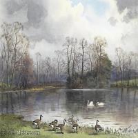 【欣赏级】YHR181455050-约翰西里尔哈里森John Cyril Harrison英国画家高清绘画作品集-20M-3288X2176