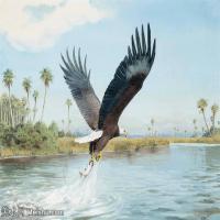 【打印级】YHR181455079-约翰西里尔哈里森John Cyril Harrison英国画家高清绘画作品集-21M-3200X2339