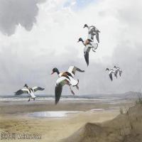 【打印级】YHR181455068-约翰西里尔哈里森John Cyril Harrison英国画家高清绘画作品集-21M-3288X2248