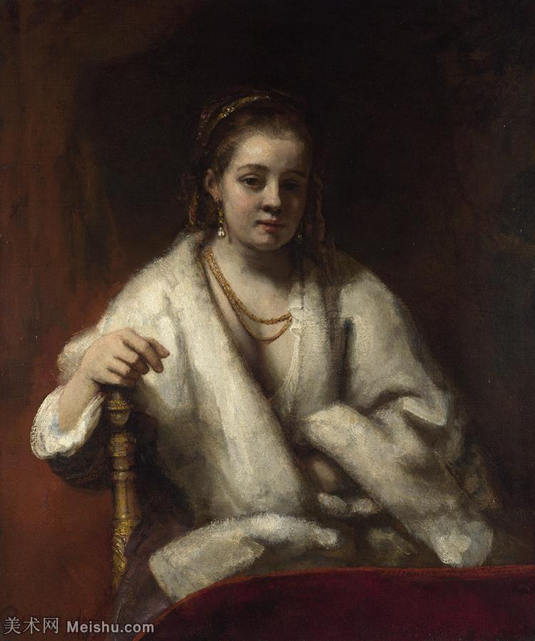【印刷级】YHR131509048-荷兰现实主义画家伦勃朗Rembrandt17世纪最伟大的画家油画作品高清大图肖像画风