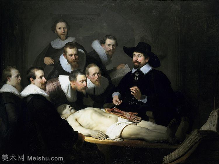 【欣赏级】YHR131509201-荷兰现实主义画家伦勃朗Rembrandt17世纪最伟大的画家油画作品高清大图肖像画风