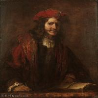 【打印级】YHR131509089-荷兰现实主义画家伦勃朗Rembrandt17世纪最伟大的画家油画作品高清大图肖像画风景画风俗画宗教画 32M-3074X3724