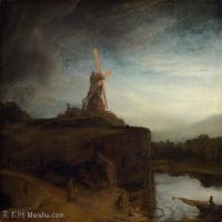 【超顶级】YHR131509003-荷兰现实主义画家伦勃朗Rembrandt17世纪最伟大的画家油画作品高清大图肖像画风景画风俗画宗教画-355M-12229X10167