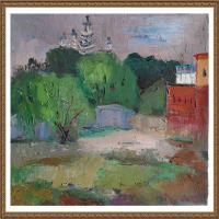 支紅油畫作品展覽(15)