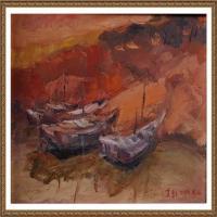 支紅油畫作品展覽(21)