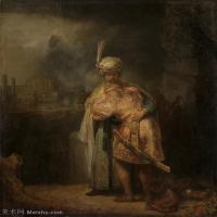 【打印级】YHR131509071-荷兰现实主义画家伦勃朗Rembrandt17世纪最伟大的画家油画作品高清大图肖像画风景画风俗画宗教画-38M-3344X3999