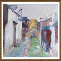 支紅油畫作品展覽(20)