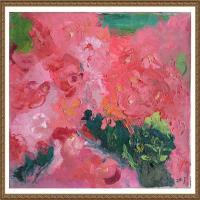 支紅油畫作品展覽(11)
