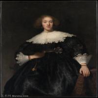 【打印级】YHR131509086-荷兰现实主义画家伦勃朗Rembrandt17世纪最伟大的画家油画作品高清大图肖像画风景画风俗画宗教画 -33M-3053X3825