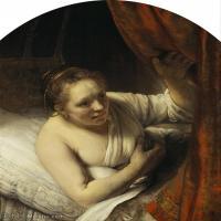 【打印级】YHR131509073-荷兰现实主义画家伦勃朗Rembrandt17世纪最伟大的画家油画作品高清大图肖像画风景画风俗画宗教画-37M-3308X4001