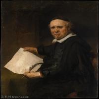 【打印级】YHR131509096-荷兰现实主义画家伦勃朗Rembrandt17世纪最伟大的画家油画作品高清大图肖像画风景画风俗画宗教画 -31M-2951X3722